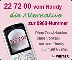 astrozeit24 Kurzwahl 22 72 00